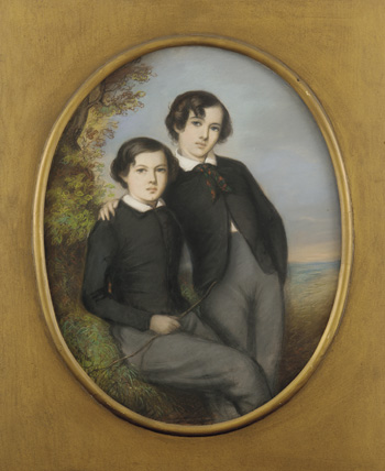 Portrait of J. McNeill Whistler and His Brother William