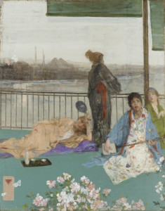 Variations in Flesh Colour and Green: The Balcony