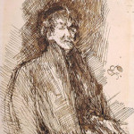 Self Portrait by Whistler