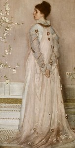 "<i>""Symphony in Flesh Colour and Pink: Portrait of Mrs Frances Leyland,""</i> 1871-3, Oil on Canvas, Frick Collection, New York, NY."