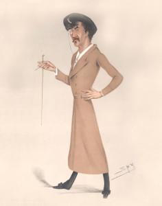 Whistler in Vanity Fair magazine, 1878