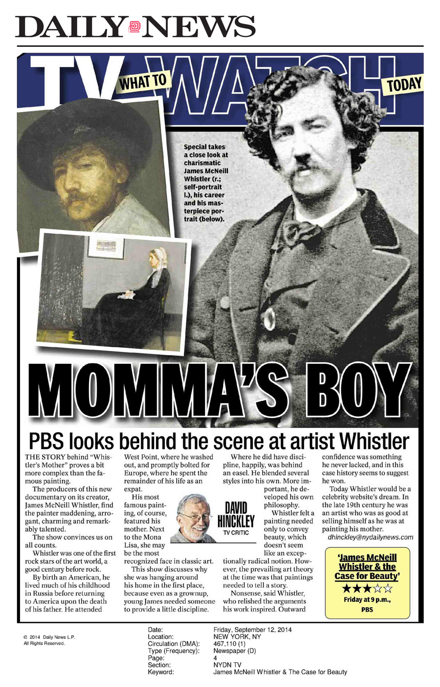 New York Daily News Press Review 9.12.14